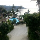 Photo taken at Haadlad Prestige Resort And Spa Koh Phangan by Evgenia I. on 3/8/2013