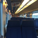 Photo taken at Trein Gent - Antwerpen by Stef N. on 5/7/2014