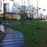 Photo taken at Jardim do Arco do Cego by olga m. on 3/13/2013