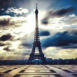 Photo taken at Tour Eiffel by Ivan5 (. on 11/9/2013