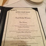 Photo taken at Myron's Prime Steakhouse by Krisdeemarie N. on 7/27/2013