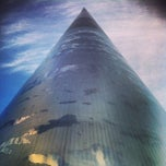Photo taken at The Spire of Dublin by Tedi R. on 4/27/2013
