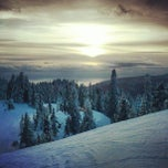 Photo taken at Grouse Mountain by Ruxandra F. on 2/24/2013