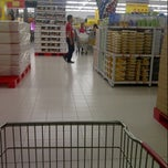 Photo taken at Carrefour by Intan K. on 4/22/2013