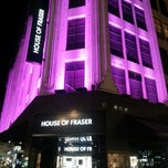 Photo taken at House of Fraser by Danno S. on 3/2/2013