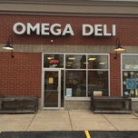 Photo taken at Omega Deli by Eyja G. on 1/14/2014