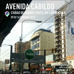 Photo taken at Av. Cabildo y Av. Congreso by Pablo Ezequiel S. on 2/14/2013