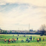 Photo taken at Clark Fields by Luis C. on 5/4/2013