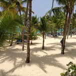 Photo taken at Riu Palace's Beach by Marc S. on 6/19/2013