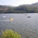 Photo taken at Porto Manso by Jose V. on 7/21/2013