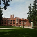 Photo taken at University of Puget Sound by Abbey M. on 3/26/2013