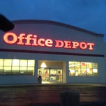 Photo taken at Office Depot by Michelle L. on 3/27/2013