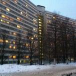 Photo taken at ДАС МГУ (Дом аспирантов и стажеров) by Toma Z. on 2/22/2013