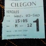 Photo taken at Cinema 21 Cilegon by NOVA G. on 9/3/2014