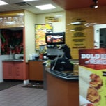 Photo taken at Taco John's by Brandy H. on 10/12/2013