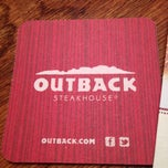Photo taken at Outback Steakhouse by Jacob L. on 4/21/2013