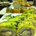 Photo taken at Sushi Roll by Marie D. on 1/17/2013