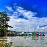 Photo taken at Pantai Mutun by Meilisa L. on 12/9/2012