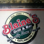 Photo taken at Blaine's Grill & Bar by CARRINGTON on 3/9/2013