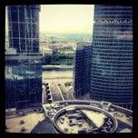 Снимок сделан в Башня «Федерация» / Federation Tower пользователем Марина М. 5/17/2013