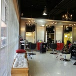 Photo taken at Aesthe Hair Salon by G S. on 4/6/2013