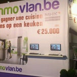 Photo taken at Immovlan.be @ Batibouw by Frédéric V. on 3/1/2012