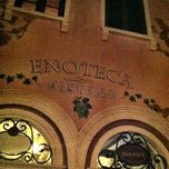 Photo taken at Enoteca Castello by Phil T. on 2/10/2012
