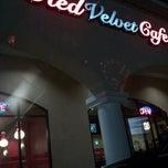 Photo taken at Red Velvet Cafe by Carmen S. on 2/24/2011