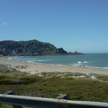 Photo taken at Pacifica State Beach by Suki v. on 5/28/2012