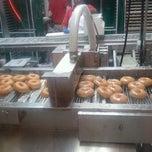 Photo taken at Krispy Kreme Doughnuts by Jamie Y. on 1/16/2011