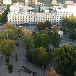 Photo taken at Plaza de la Independencia by Vivi C. on 2/20/2012