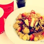 Photo taken at Pancake Café (แพนเค้ก คาเฟ่) by Miu M. on 6/23/2012