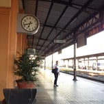 Photo taken at Stazione di Lucca by Mauro C. on 7/17/2012