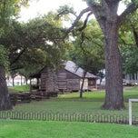 Photo taken at Dallas Heritage Village by Lukas K. on 9/8/2012