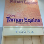 Photo taken at AEON Taman Equine Shopping Centre by Muhamad A. on 3/10/2013
