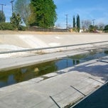 Photo taken at LA River Bike Path by chris m. on 1/29/2014