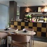 Photo taken at Restaurace Aura by Hanes G. on 4/5/2014