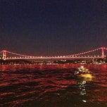 Photo taken at Emirgan Sahili by Mehmet E. on 5/19/2013