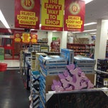 Photo taken at The Reject Shop Bourke St by Boommiie L. on 3/26/2014