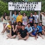 Photo taken at Pulau Lihaga (Lihaga Island) by Meilani K. on 11/12/2014