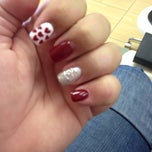 Photo taken at Fancy Nails & Spa by Alisa M. on 1/25/2014
