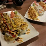 Photo taken at Fujiyama Steak House of Japan by Tony L. on 1/28/2013