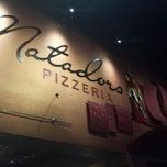 Photo taken at Matadors Pizzeria by Lorraine E. on 4/26/2014