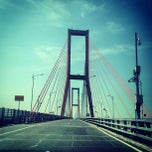 Photo taken at Jembatan Suramadu (Suramadu Bridge) by Cecep Z. on 7/30/2013