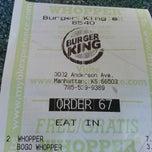 Photo taken at Burger King by William H. on 7/15/2014