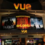 Photo taken at Vue Cinema by Robert E. on 5/5/2013