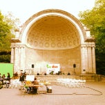 Photo taken at Naumburg Bandshell by Jacob F. on 5/13/2013