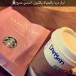 Photo taken at Starbucks by DANYAH on 2/26/2015