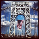 Photo taken at George Washington Bridge by Bill S. on 7/4/2013
