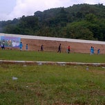Photo taken at Stadion Manakarra by Afrizal on 12/17/2013